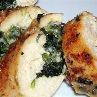 Ispanaklı Tavuk Tarifi