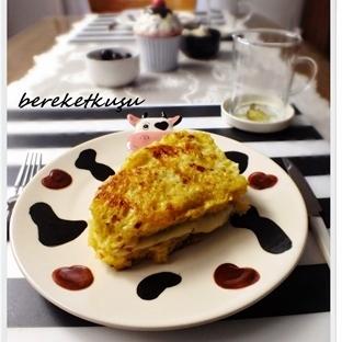 Kahvaltıya  Fransız Tostu