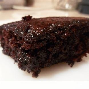 Kakaolu Islak Kek Yapımı