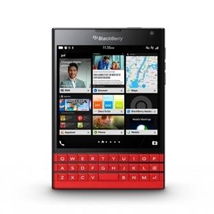 Kırmızı BlackBerry Passport Tasarlandı