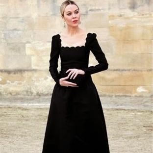 Kışın Siyah Elbise Nasıl Giyilir?