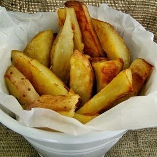 Kızartmanın Sağlıklı Hali:Fırında Patates