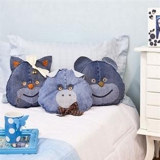 Kotlardan Yapılmış Yastık Modelleri