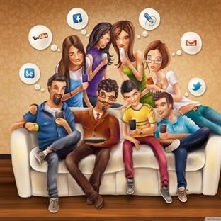 İletişimi iyi olanlar sosyal medyada başarılı...