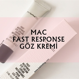 MAC FAST RESPONSE GÖZ KREMİ