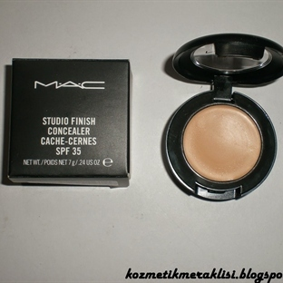 Mac Studio Finish Concealer SPF35 / NW25