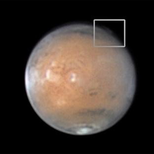 Mars'ta Esrarengiz Bulutlar