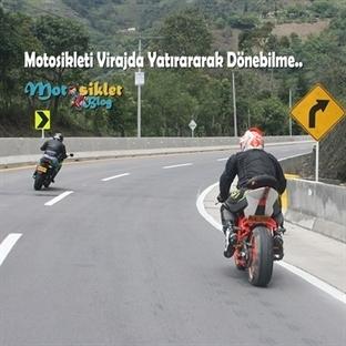 Motosikleti Virajda Yatırma