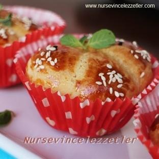 Muffin Kalıbında Tuzlu Kurabiye