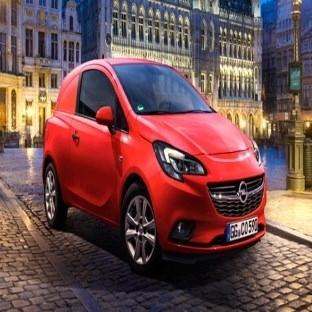 Opel Corsavan görücüye çıktı