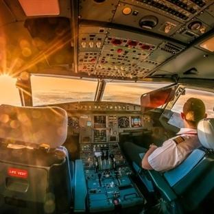 Pilotların Çektiği Nefes Kesici Kokpit Fotoğraflar