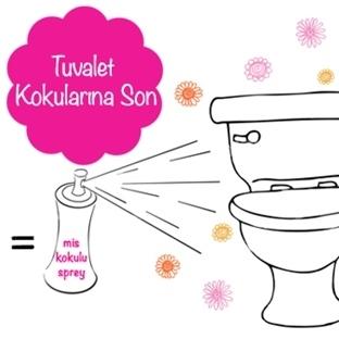 Pis Tuvalet Kokularına Son