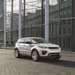 Range Rover Evoque Makyajlandı