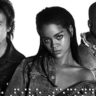 Rihanna'dan Kanye West ve Paul McCartney'li klip: