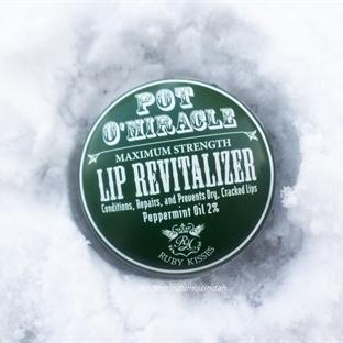 Ruby Kisses ~ Pot O'Miracle Lip Revitalizer