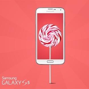 Samsung Galaxy S5 için Android 5.0 Lollipop artık