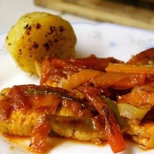 Sebzeli Somon Balığı