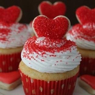 Sevgililer Günü Cupcake Tarifi