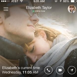 Sevgililere özel mobil mesajlaşma uygulaması