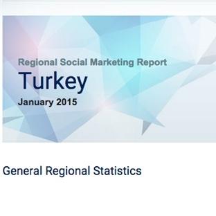 SocialBakers Ocak 2015 Türkiye Sosyal Medya Raporu
