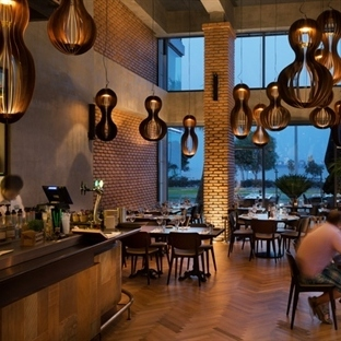Studio Gad'tan Güney Kıbrıs'ta Como Restaurant