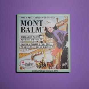 THE BALM / MONT BALM EYESHADOW PALETTE