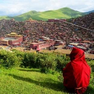 Tibet Manastırının Yanıbaşında