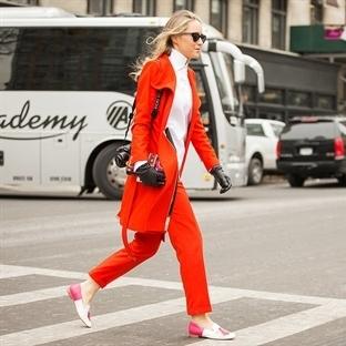 Trend: Rengarenk Takım Elbiseler