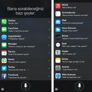 Türkçe Siri'ye Merhaba