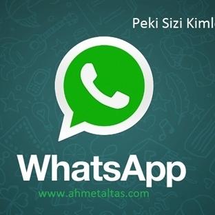 Whatsapp'ta Kimlerin Bizi Engellediğini Görmek Müm