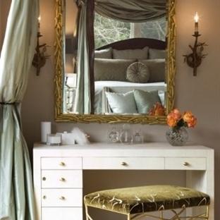 Yatak Odası İçin Klasik Makyaj Masası Modelleri