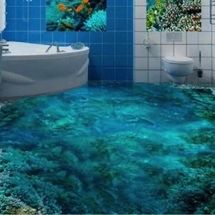 3 Boyutlu Banyo Dekorasyon Fikirleri Yazarkafe