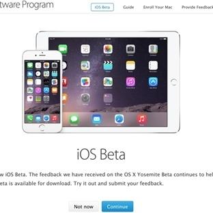 Apple Halka Açık iOS Beta Programını Başlattı