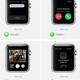 Apple Watch'un Yerleşik Uygulamaları