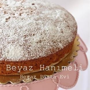 Bademli- yulaflı kek