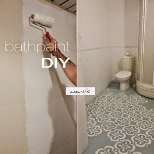 Banyo Seramikleri Nasıl Boyanır? Kullanışlı mı?