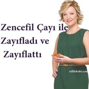 Berna Laçin'in 15 Kilo Verdiği Zencefil Çayı