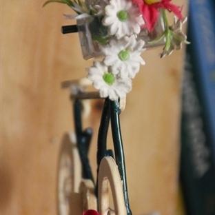 Bisiklet kitap tutucu