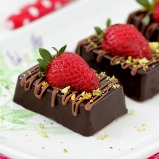 Cikolata Kapli Cheesecake