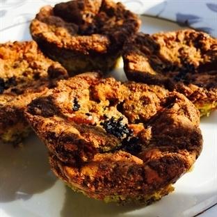 Çıtır Çıtır Ispanaklı Kahvaltı Muffinleri