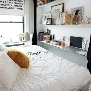Daha Düzenli Yatak Odaları için Aksesuar Fikirleri