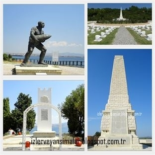 Destansı Topraklarda Şehitlikler ve Anıtlar - 1