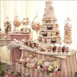 Düğünlerin En Şeker Alanları : Şeker Büfeleri