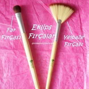 Eklips Fırçalar   Far Fırçası & Yelpaze Fırçası  