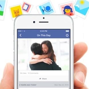 """Facebook'tan kişiye özel """"Tarihte Bugün"""" servisi"""
