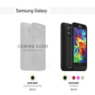 Galaxy S6 ve S6 Edge'ye Mophie Desteği Geldi