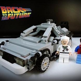 Geleceğe Dönüş'e Lego yorumu!