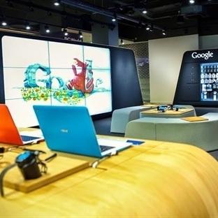 Google Mağazalar Geliyor
