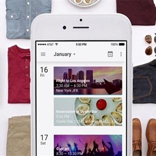 Google Takvim Uygulaması iOS için Tasarlandı