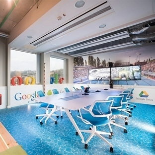 Graphasel Design'dan Budapeşte'de Google Office